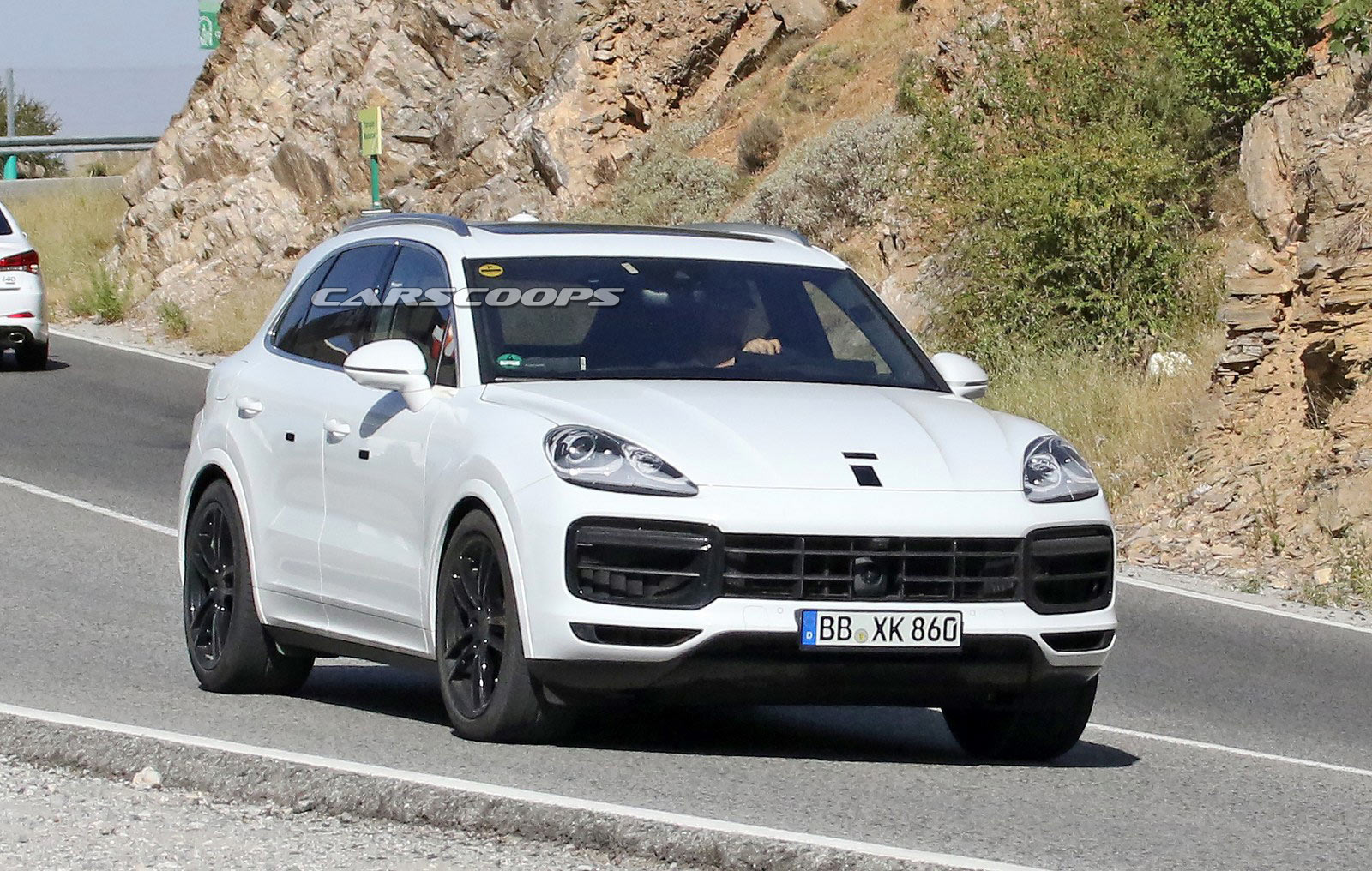 2018 Porsche Cayenne Spied Looking Production Ready