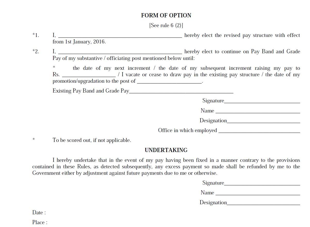 undertaking format by employee download