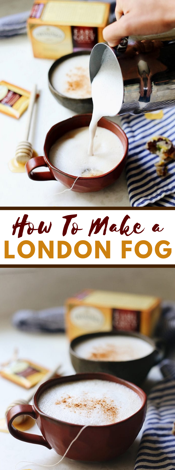 HOW TO MAKE A LONDON FOG #drinks #glutenfree