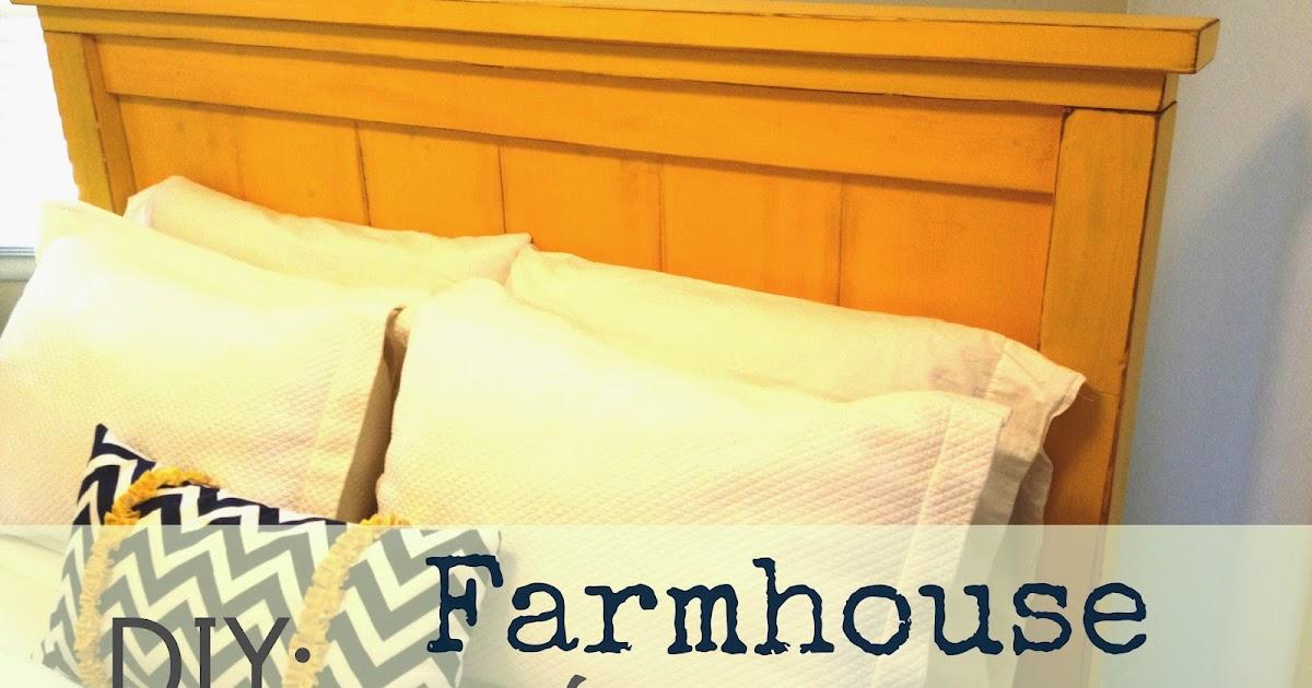 That s My Letter DIY Farmhouse Headboard