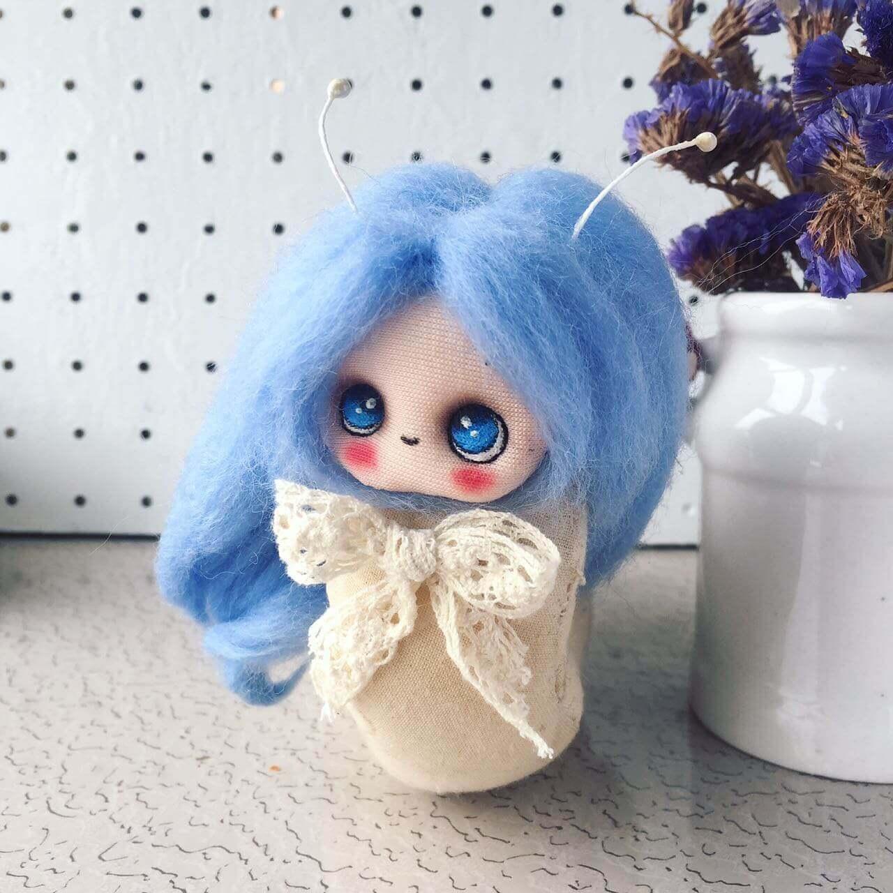 Patung Kecil Dan Comel Dari Dolittle Handmade