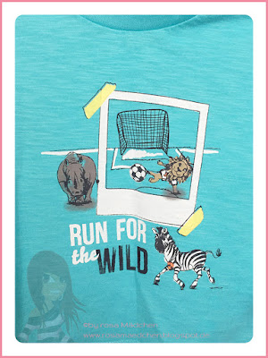 Stampin' Up! rosa Mädchen Kulmbach: Babykarte mit Zoo Babies und Auf Film Framelits