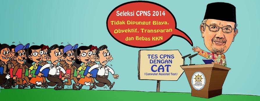 Pendaftaran CPNS 2015 di Website http://panselnas.menpan.go.id