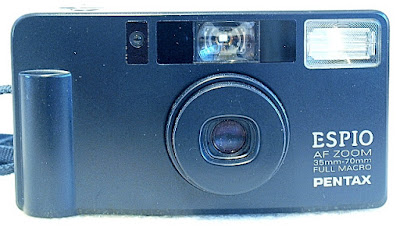 Pentax Espio AF Zoom, Front