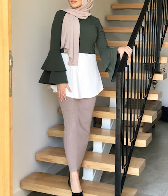 Tunique Hijab Longue - Mohajaba Chic
