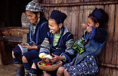 The H'mong in Sapa