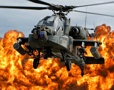cobra attack helicopter firing