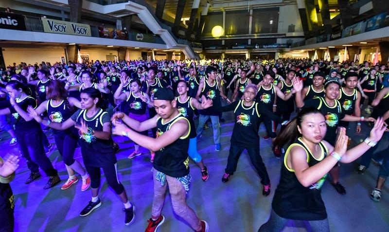 Body Combat Hari Sukan Negara National Sports Day SCORE FitMob Festival 2015
