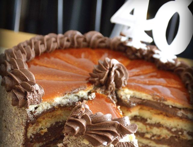 gâteau 40 ans vieillir projets rêves
