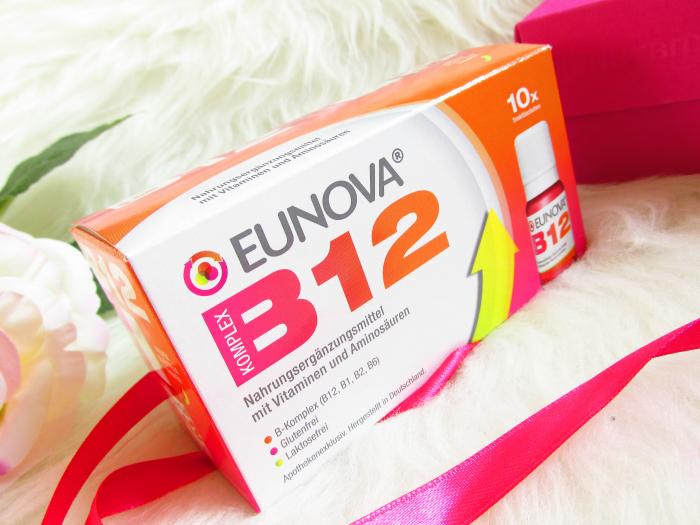 Was tun bei Vitamin B12 Mangel? EUNOVA® B12 Komplex - Laktosefreie 10 Tage Vitamin Kur