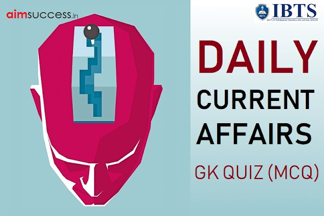Daily Current Affairs Quiz : 01 September 2018