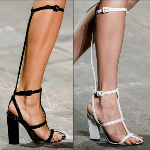 ab095c5b770 I am eyeing these cute gladiator sandals from Alexander Wang but I am NOT  in store right now to pay that kind of money. Check out below Alexander  Wang s S S ...