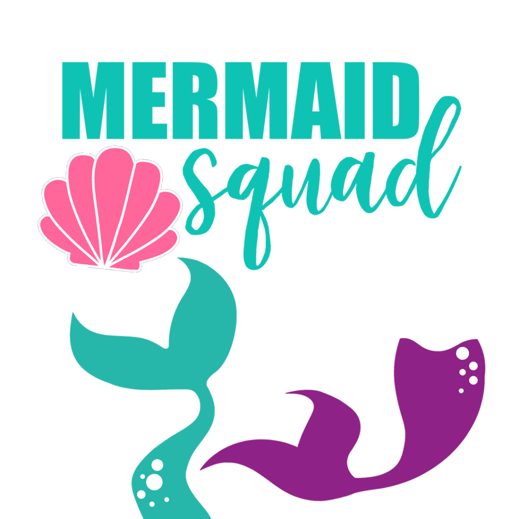 Download Mermaid & Sea Themed FREE svgs