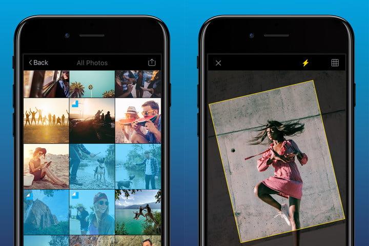 افضل تطبيق تعديل الصور على الايفون 2018 Quickshot