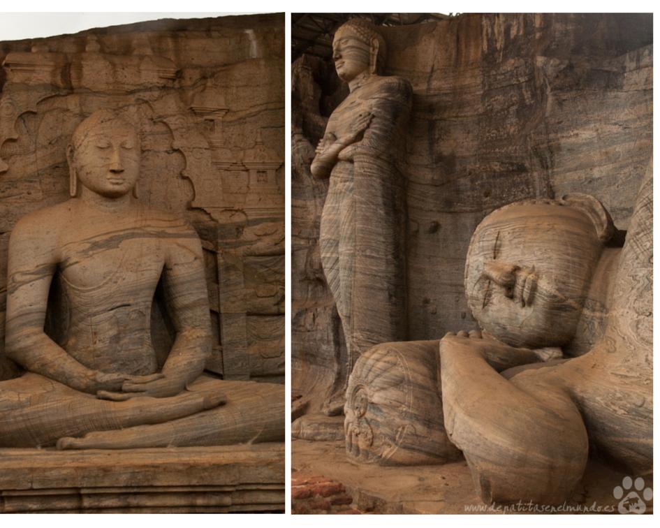 Gal Vihara en Polonnaruwa