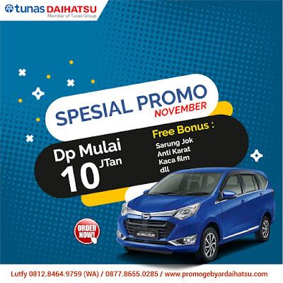 Promo Daihatsu Sigra November 2018