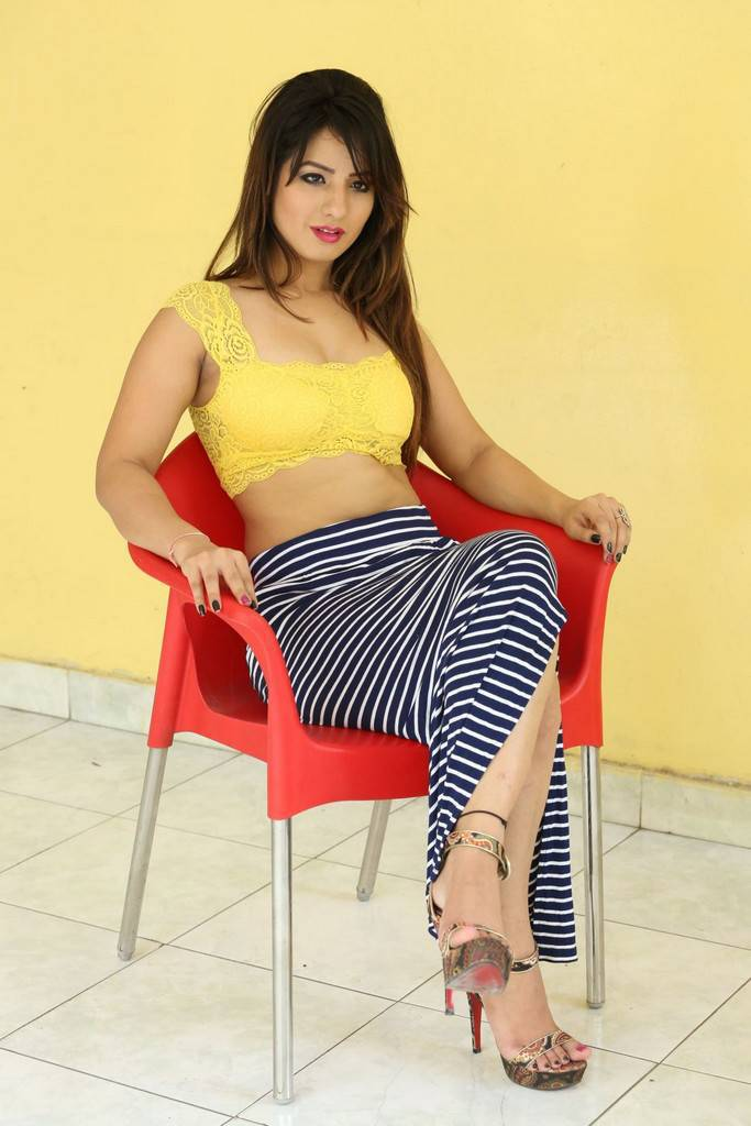 Shunaya Solanki At Pisachi 2 Movie Release Date Press Meet Stills