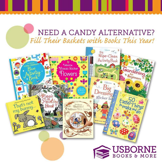 Fill Your Kiddo's Baskets with Enriching Educational items vs. Candy!