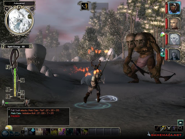 Neverwinter Nights 2 Gameplay Screenshot 1