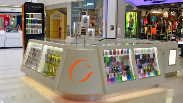 Comprar capinha de celular nos quiosques em Miami