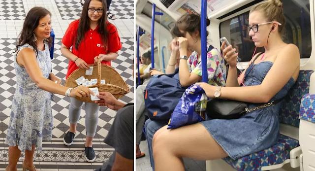 Στη Βιέννη μοίρασαν 14.000 αποσμητικά στο μετρό