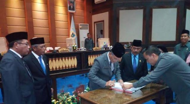 Bupati Iskandar Doakan Karir HM Rifa'i Terus Berlanjut