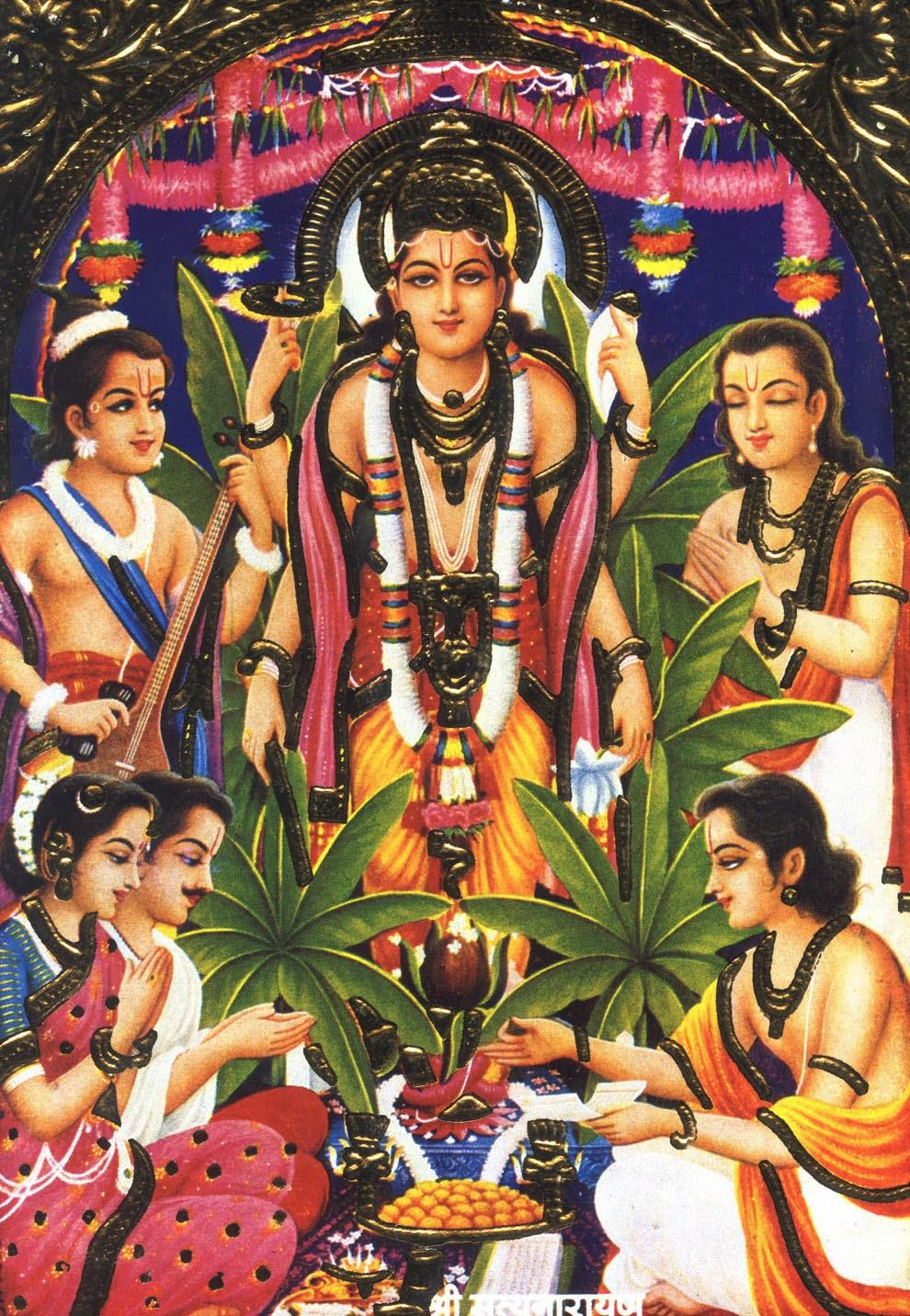 Beautiful Wallpapers Lord Satyanarayan Hd Wallpapers For Desktop And Mobile-7020