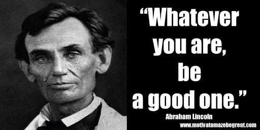 Abe Lincoln Motivational Poster Books Serve To Show Home