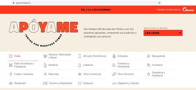 MiPymes inician semana de ventas online en plataforma Apoyameaqui.cl