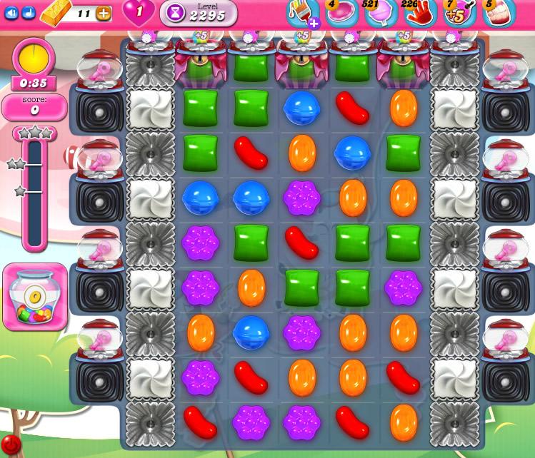 Candy Crush Saga level 2295