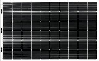 panda vifacial solar panel