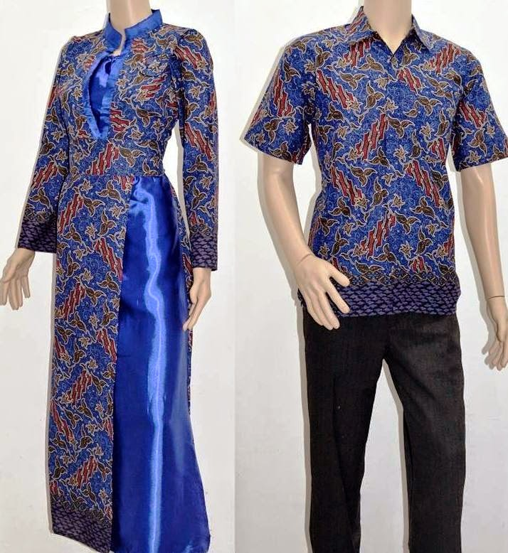 Gambar Model Batik Sarimbit Terbaru 2013: Model Baju Batik Terbaru 2015