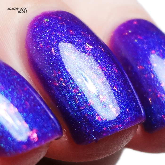 xoxoJen's swatch of Bees Knees Lacquer Tittybean