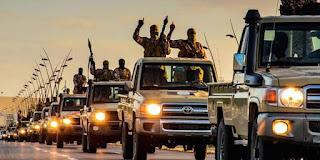 ÚLTIMA HORA: LOS PATROCINADORES DE ESTADO ISLÁMICO LLEVAN DÍAS EVACUANDO TERRORISTAS DE SIRIA E IRAK CON DESTINO A EGIPTO Y LIBIA