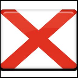 Alabama Flag 070811 Vector Clip Art Free Clip Art Images