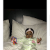 Davido shares adorable photo of his daughter Hailey, calls her 'his last born'