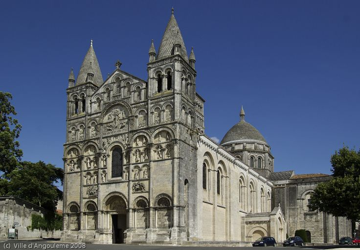 The Angouleme Cathedral