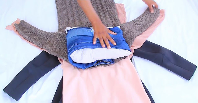 How To Fit All Your Clothes In A Small Carry On