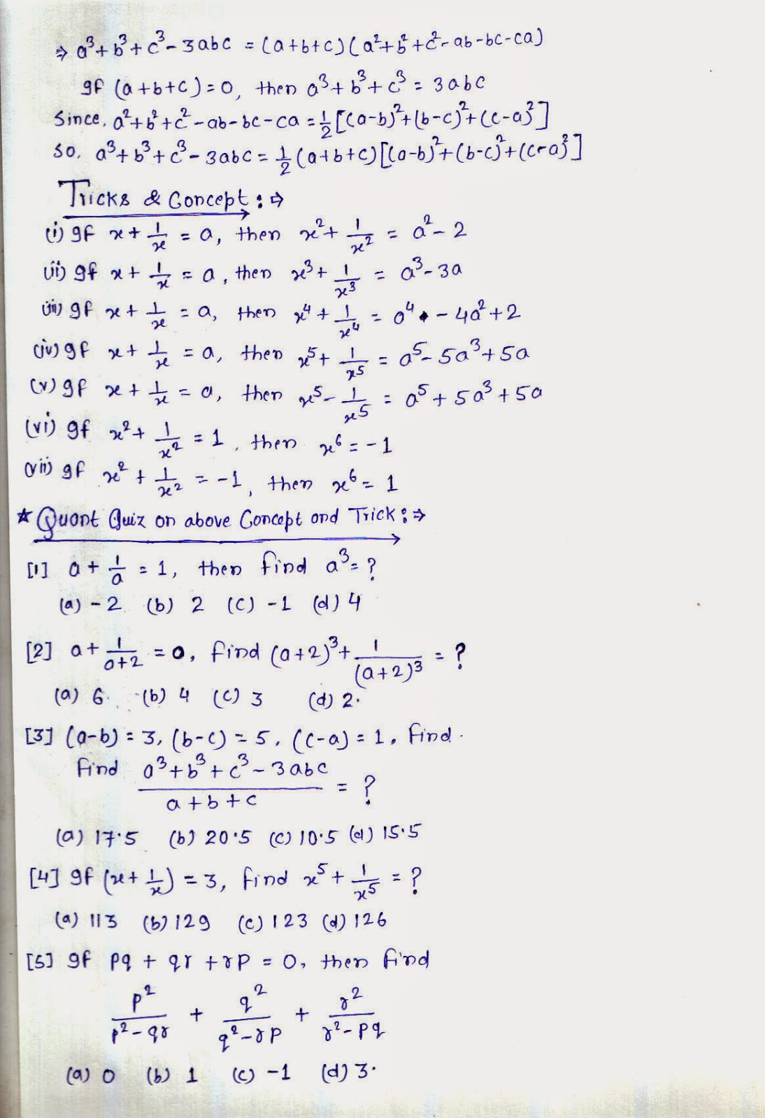 Shortcut Tricks To Solve Linear Equations