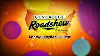 Genealogy Roadshow: Interesting Concept, Great Show