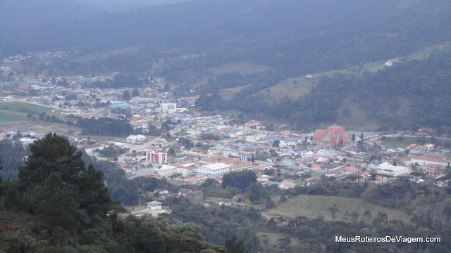 Vista panorâmica de Urubici - Mirante do Avencal