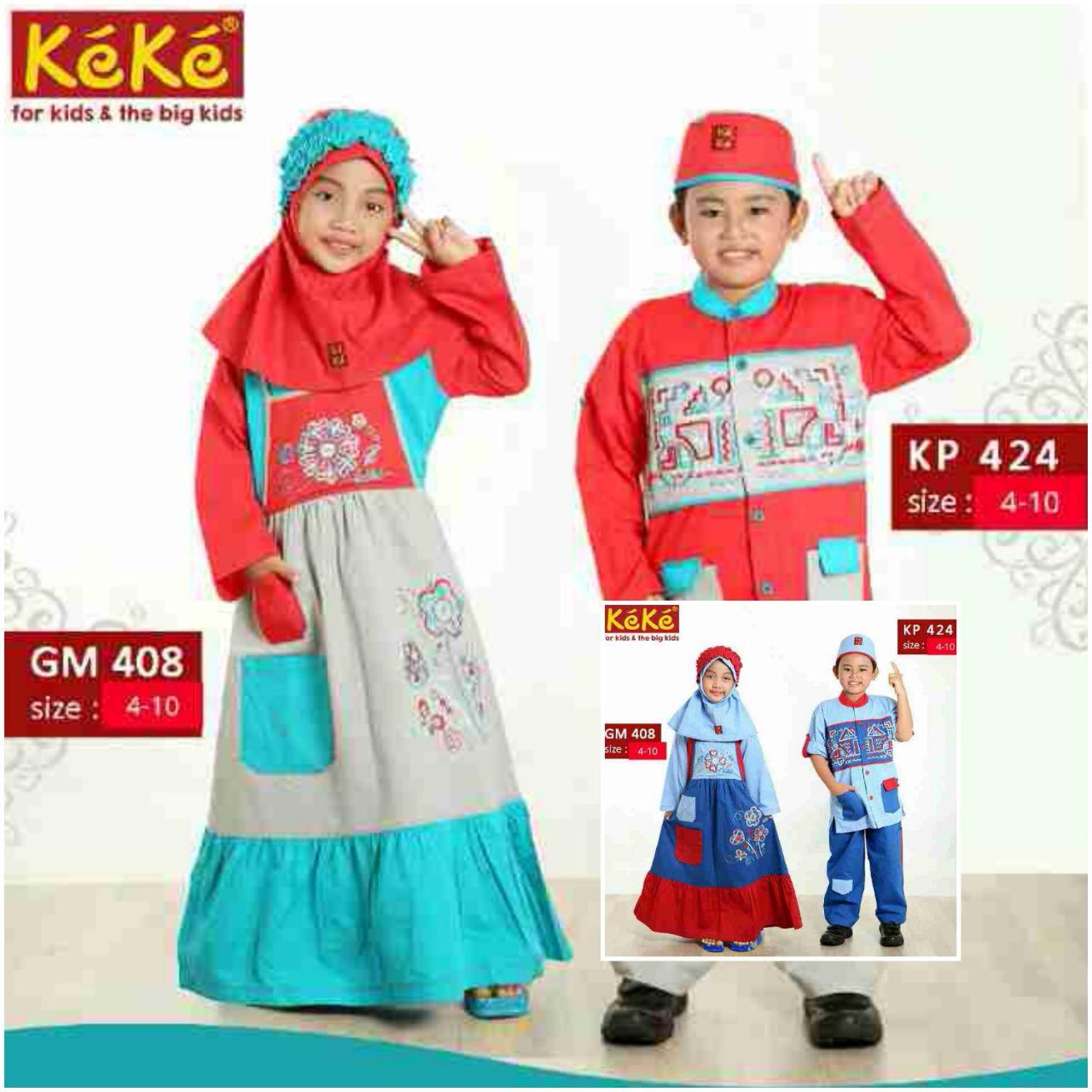 Koleksi Baju Muslim Keke Kids Terbaru