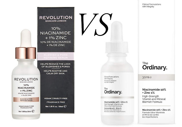 revolution skin care dupes from the ordinary