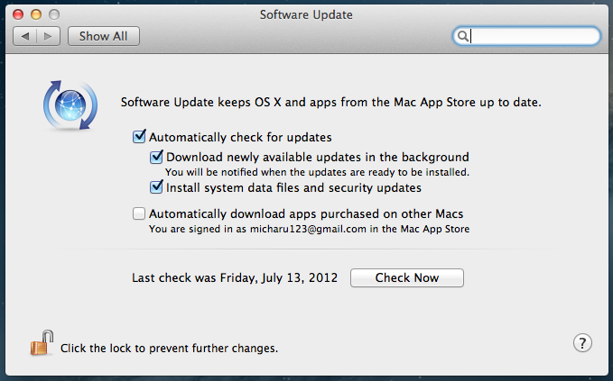 Initial Experience with OS X 10 8 Mountain Lion Gold Master