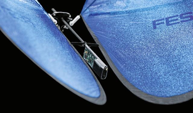 Dron mariposa