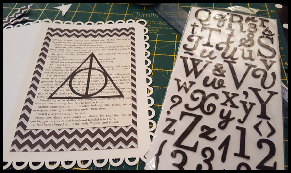 adding always to harry potter card