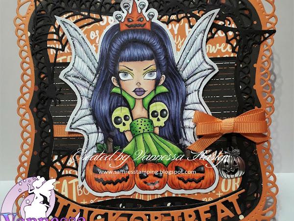 I am the Faery Queen of Hallowe'en!
