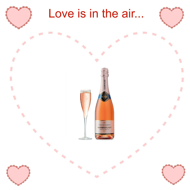 Champagne Monsigny Rose Aldi