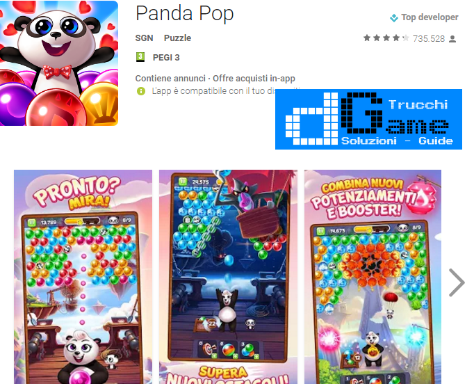 Trucchi Panda Pop Mod Apk Android v5.1.010