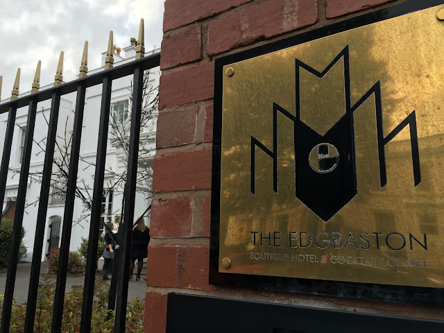 The Edgbaston boutique hotel door sign